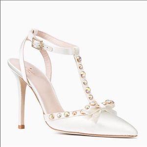 ✨NIB✨ Kate Spade Bridal Lydia Pointy Toe Heels